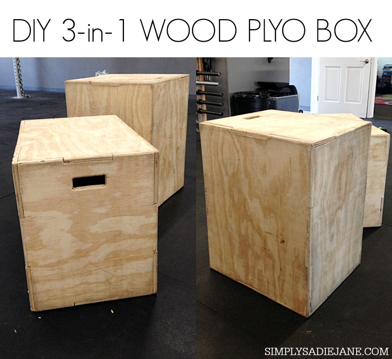 how to build a box for box jumps 2