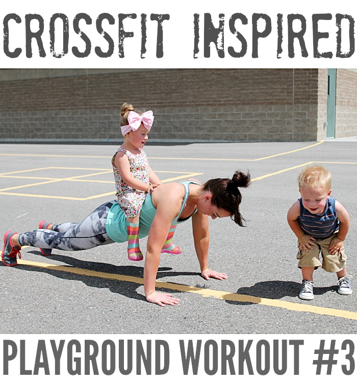 CROSSFIT INSPIRED PLAYGROUND WORKOUT #3! FINALLY!!! {fitness}