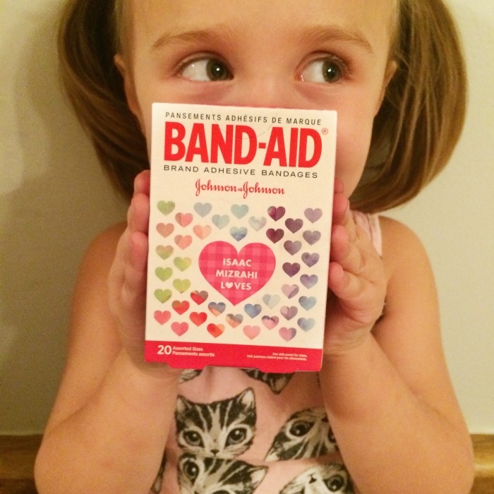Fashion Band-aids to the rescue! { Family }