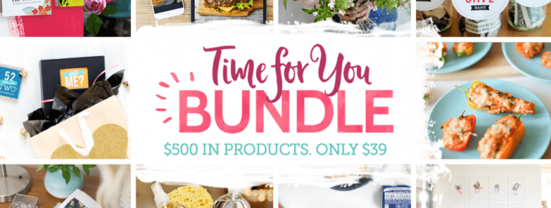 """It's """"TIME FOR YOU"""" to enjoy an AMAZING affordable BUNDLE!!"""