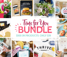 "It's ""TIME FOR YOU"" to enjoy an AMAZING affordable BUNDLE!!"