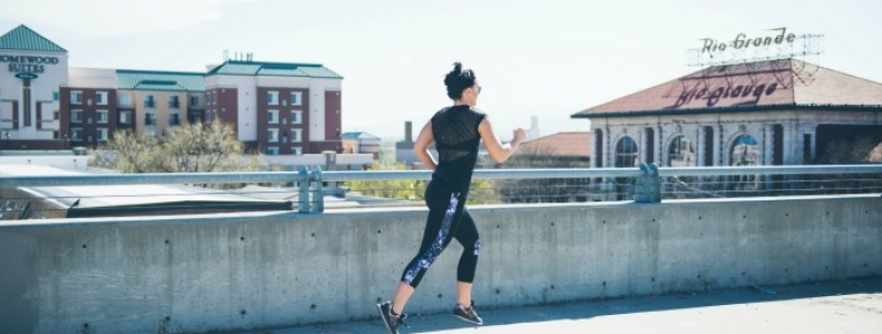 Mesh Top for the win – fitness – fashion