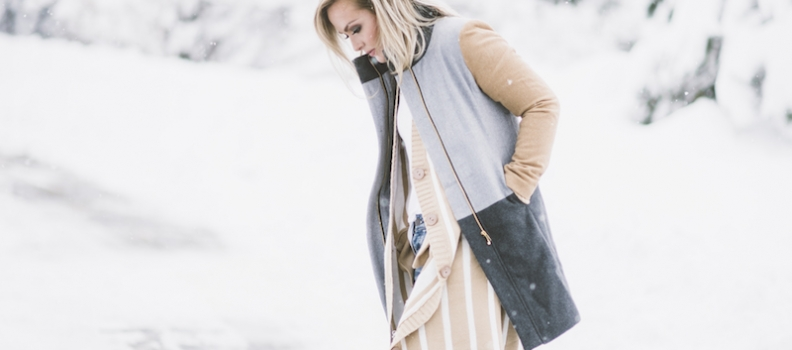 Cozy winter layers | fashion