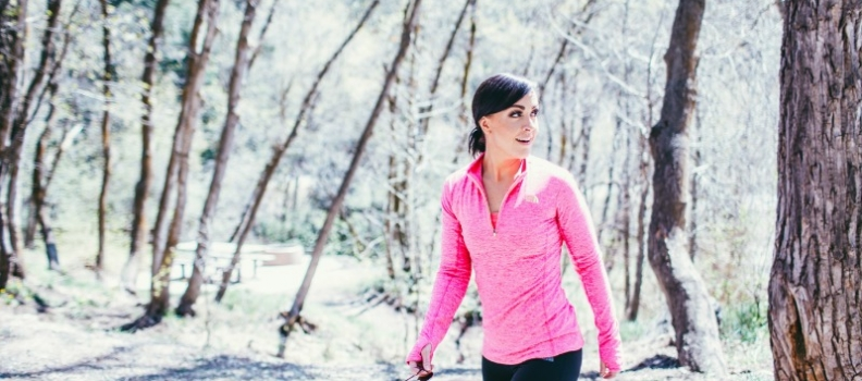 I train for…LIFE with The North Face!