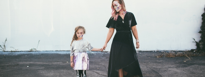 The Lovely Star Skulls | A HALLOWEEN MOTHER-DAUGHTER LOOK ED. 2