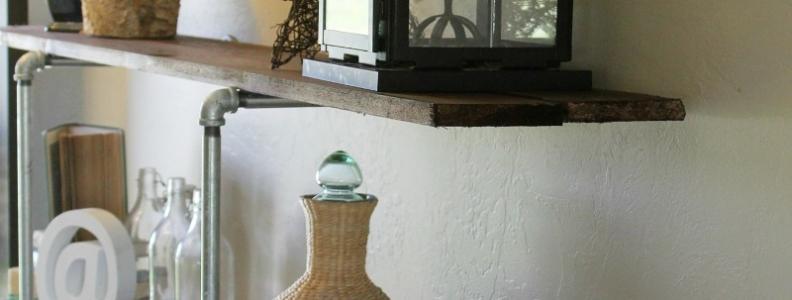 INDUSTRIAL SHELF DIY with PROBOND ADVANCED {Tutorials}