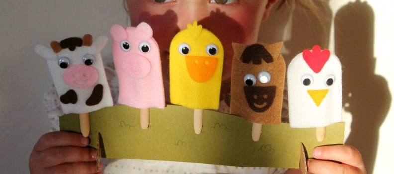 Felt puppets and summer activities! {Family/Tutorials}