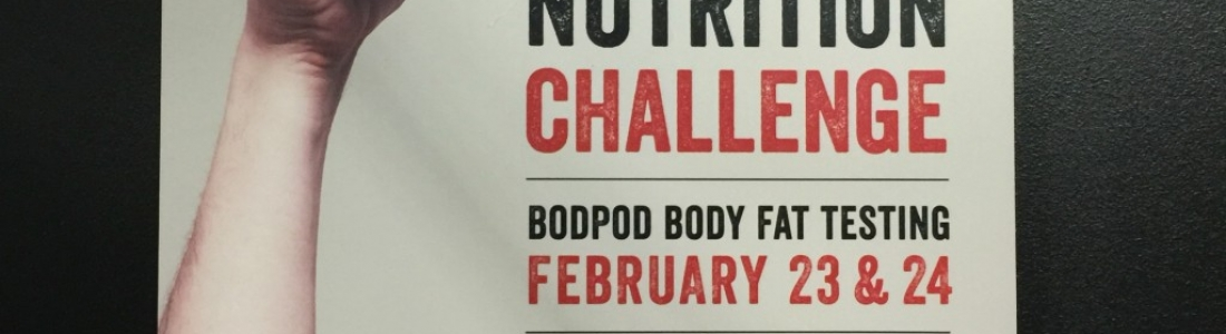 Nutrition challenge with Xcel Fitness – Fitness