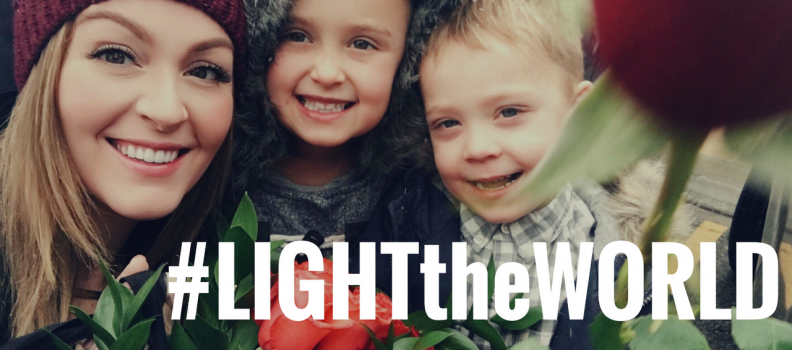 SHARE YOUR LIGHT THIS DECEMBER!