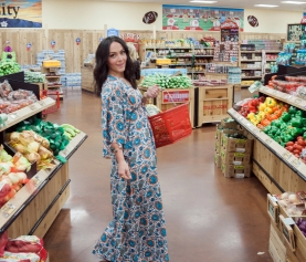 10 tips to shopping healthy and smart PLUS this dress