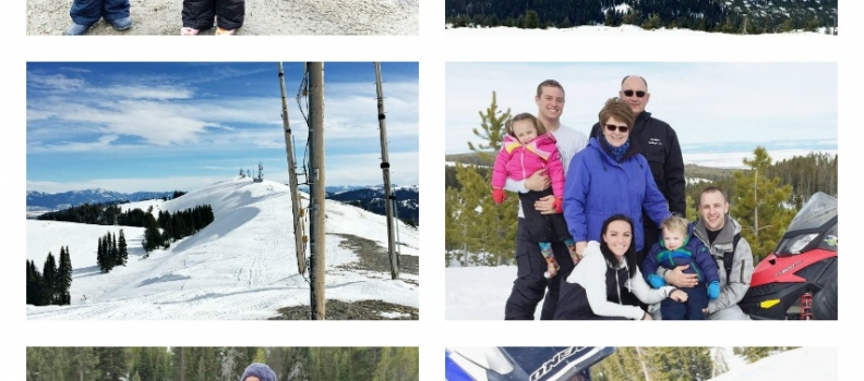 A Valentines in the mountains plus the spudnut recipe from Grandma Vicki – family