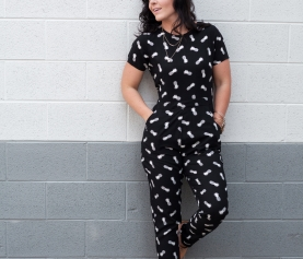 Pineapple jumpsuit… nuff' said – fashion