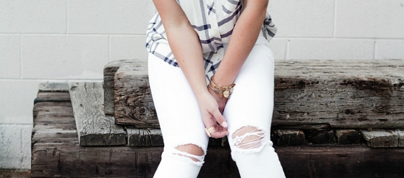 The white jeans are back and a little life lesson – fashion