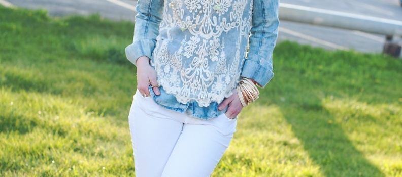 White skinnies and THE MADE COLLECTION! {fashion}