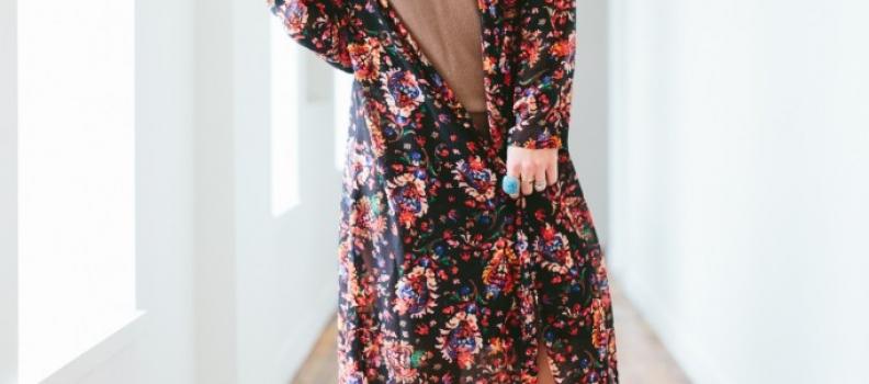 Christmas kimono – fashion