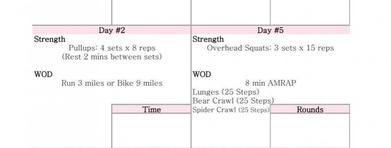 WEEK 3 #6weekstofab PRINTABLE { Fitness }