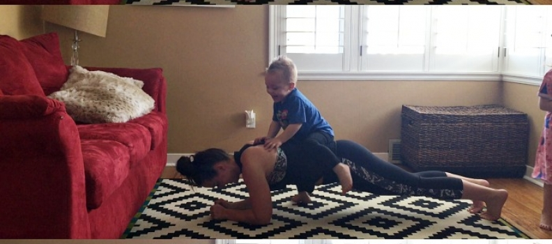 sometimes… working out at home doesn't always go as planned… video of the week – fitness