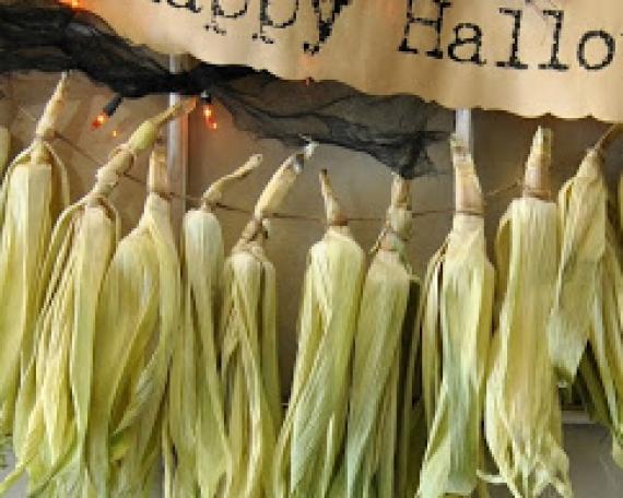 Corn Tassel Banner