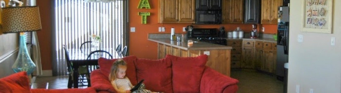 MY KITCHEN THEN AND NOW…THANK YOU TILESHOP.COM!! {Tutorials}
