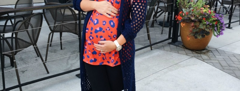 Pregnant weekday style update