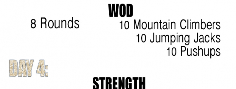 WEEK 2: 6 WEEK AT-HOME CROSSFIT INSPIRED WORKOUTS {Fitness/Video of the Week}