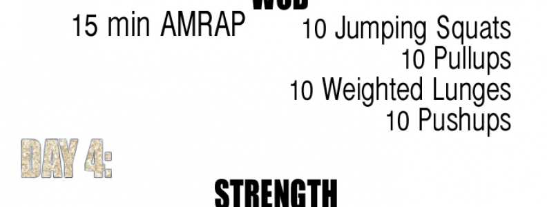 WEEK 3: 6 WEEK AT-HOME WORKOUTS! {Fitness/Video of the Week}