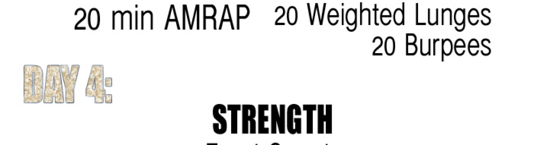 WEEK 6: FINAL WEEK OF THE 6 WEEK AT-HOME WORKOUTS!! {Fitness}